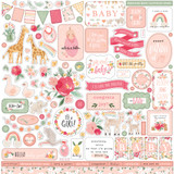 Welcome Baby Girl - Welcome Baby Girl Element Sticker
