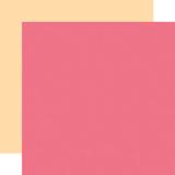 Welcome Baby Girl - Designer Solids - Dark Pink/Yellow