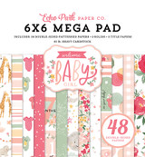 Welcome Baby Girl - Welcome Baby Girl Cardmakers 6x6 Mega Pad