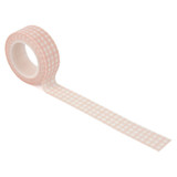 Welcome Baby Girl - Dreamy Plaid Washi Tape