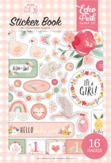 Welcome Baby Girl - Welcome Baby Girl Sticker Book