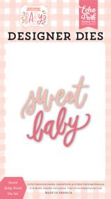 Welcome Baby Girl - Sweet Baby Word Die Set