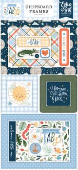 Welcome Baby Boy - 6x13 Chipboard Frames