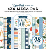 Welcome Baby Boy - Cardmakers 6x6 Mega Pad
