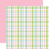 Welcome Easter - Pastel Plaid