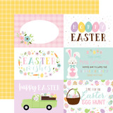 Welcome Easter - 6x4 Journaling Cards