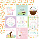 Welcome Easter - 4x4 Journaling Cards