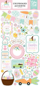 Welcome Easter - 6x13 Chipboard Accents
