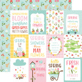 Welcome Spring - 3x4 Journaling Cards