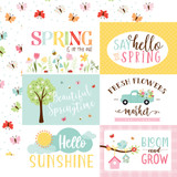 Welcome Spring - 6x4 Journaling Cards