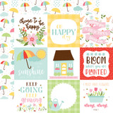 Welcome Spring - 4x4 Journaling Cards