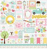 Welcome Spring - Element Sticker