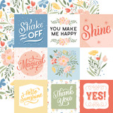 Salutations No. 1: 4x4 Journaling Cards
