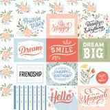Salutations No. 1: 4x3 Journaling Cards