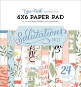 Salutations No. 1: 6x6 Paper Pad