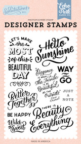 Salutations No. 1: Hello Sunshine Stamp Set