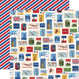Our Travel Adventure: World Stamps