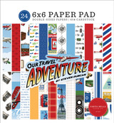 Our Travel Adventure: 6x6 Paper Pad