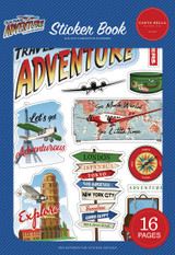 Our Travel Adventure: Sticker Book