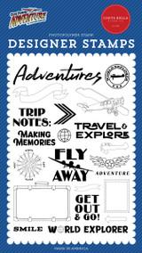 Our Travel Adventure: World Explorer Stamp Set
