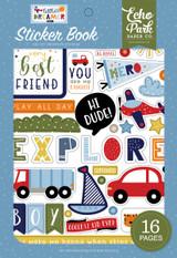 Little Dreamer Boy: Sticker Book