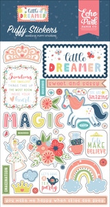 Little Dreamer Girl: Puffy Stickers