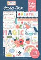 Little Dreamer Girl: Sticker Book