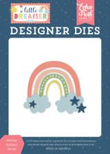 Little Dreamer Girl: Dreamy Rainbow Die Set