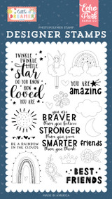 Little Dreamer Girl: Best Friend Stamp Set