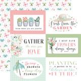 Flower Garden: 6x4 Journaling Cards