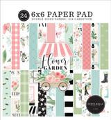 Flower Garden: 6x6 Paper Pad