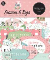 Flower Garden: Frames & Tags