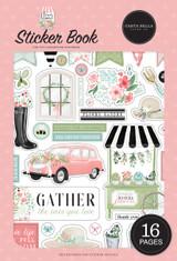 Flower Garden: Flower Garden Sticker Book
