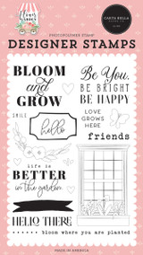 Flower Garden: Bloom & Grow Stamp Set