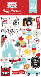 A Magical Place: Puffy Stickers