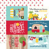 A Slice of Summer: 6X4 Journaling Cards