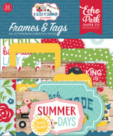 A Slice of Summer: Frames & Tags