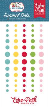 A Slice of Summer: Enamel Dots