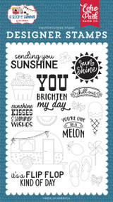 A Slice of Summer: Sending Sunshine Stamp Set