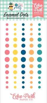 Pool Party: Enamel Dots