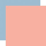 Summer: Designer Solids - Pink/Blue