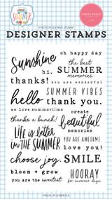 Summer: Summer Sentiments Stamp Set