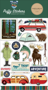 Outdoor Adventures: Puffy Stickers