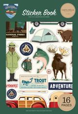 Outdoor Adventures: Sticker Book