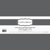 Charcoal Grey Linen 80lb Cardstock