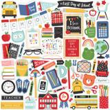 I Love School: Element Sticker