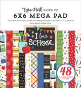 I Love School: Cardmakers 6x6 Mega Pad