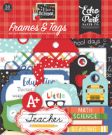 I Love School: Frames & Tags
