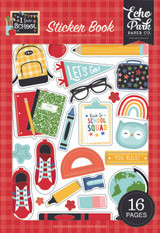 I Love School: Sticker Book