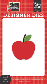 I Love School: School Apple Die Set
